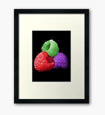 Colourful Fruit Framed Print
