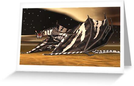 Zebra Dragon by Walter Colvin