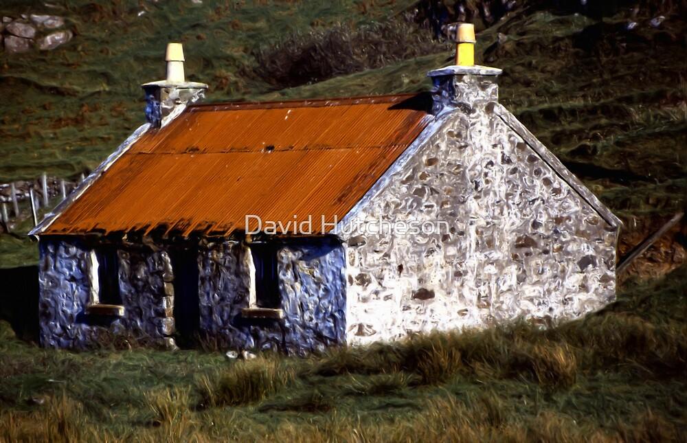 Rusty Roof  -  Skye * by David Hutcheson