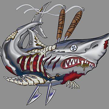 Dead-Shark by ScottyTattoo