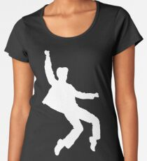 White Elvis Women's Premium T-Shirt