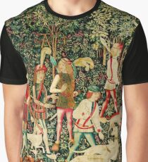 HD The Hunt of the Unicorn (1494 aprox) Graphic T-Shirt