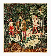 HD The Hunt of the Unicorn (1494 aprox) Photographic Print