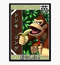 Donkey Kong In The Jungle Photographic Print