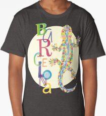 Fashion Barcelona City Lizard Long T-Shirt
