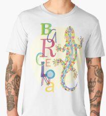 Fashion Barcelona City Lizard Men's Premium T-Shirt