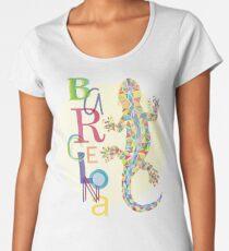 Fashion Barcelona City Lizard Women's Premium T-Shirt