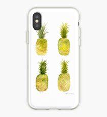 Vinilo o funda para iPhone Four Mini Pineapples