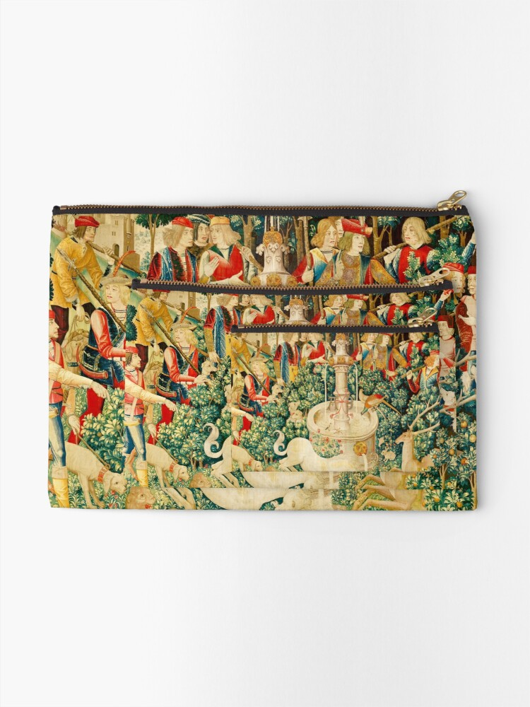 Alternate view of HD The Unicorn is Found (1495) Zipper Pouch