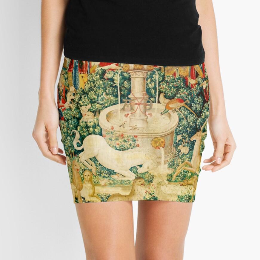 HD The Unicorn is Found (1495) Mini Skirt