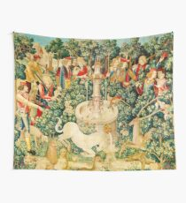 HD The Unicorn is Found (1495) Tapestry