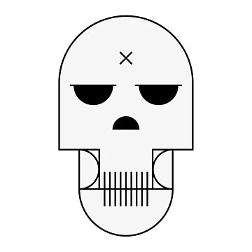 minimal skull by Returnerstudio