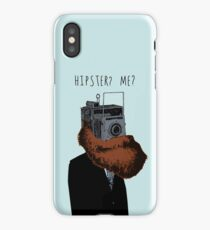 Hipster? Me?  iPhone Case/Skin