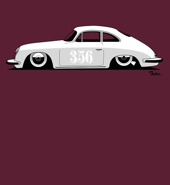 Porsche 356 by Tedri