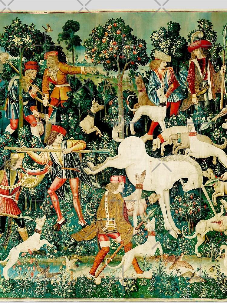 HD El unicornio es atacado (1495) de mindthecherry