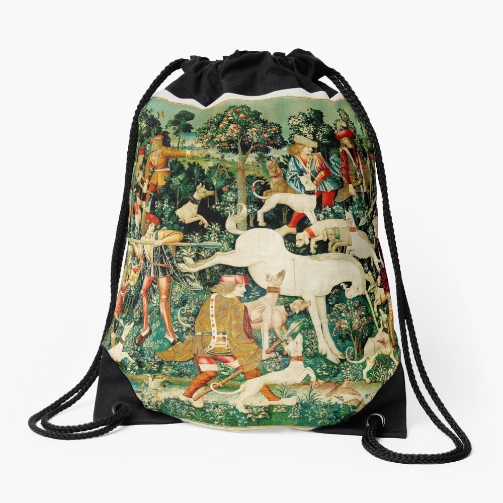 HD El unicornio es atacado (1495) Mochila saco