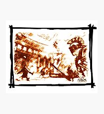 Cruent duel in the ancient Rome Photographic Print
