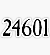 24601 Sticker