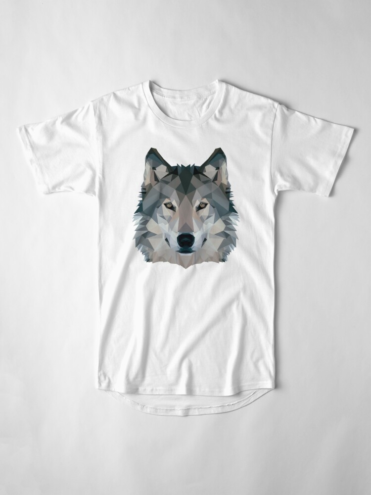Alternate view of Wolf Long T-Shirt