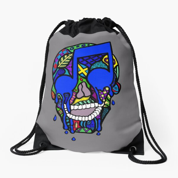 Cranial Bass I Drawstring Bag