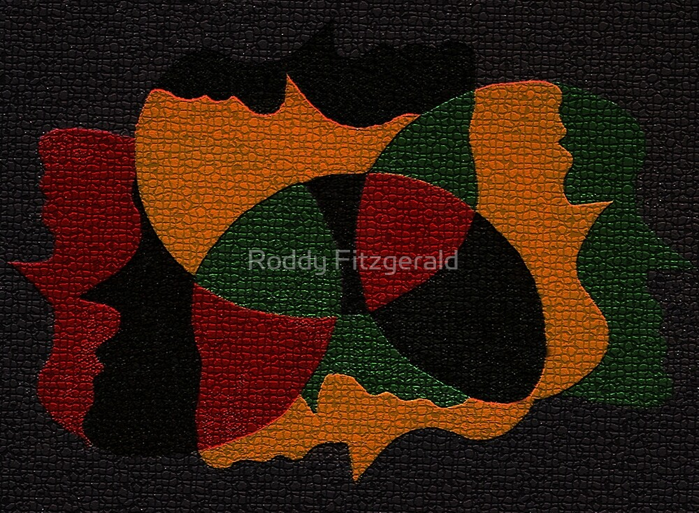 We Are the World 1 by Roddy Fitzgerald