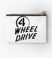 4 Wheel Drive! Zipper Pouch