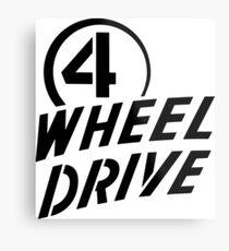 4 Wheel Drive! Metal Print