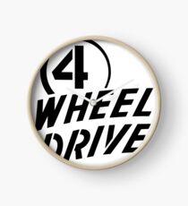 4 Wheel Drive! Clock