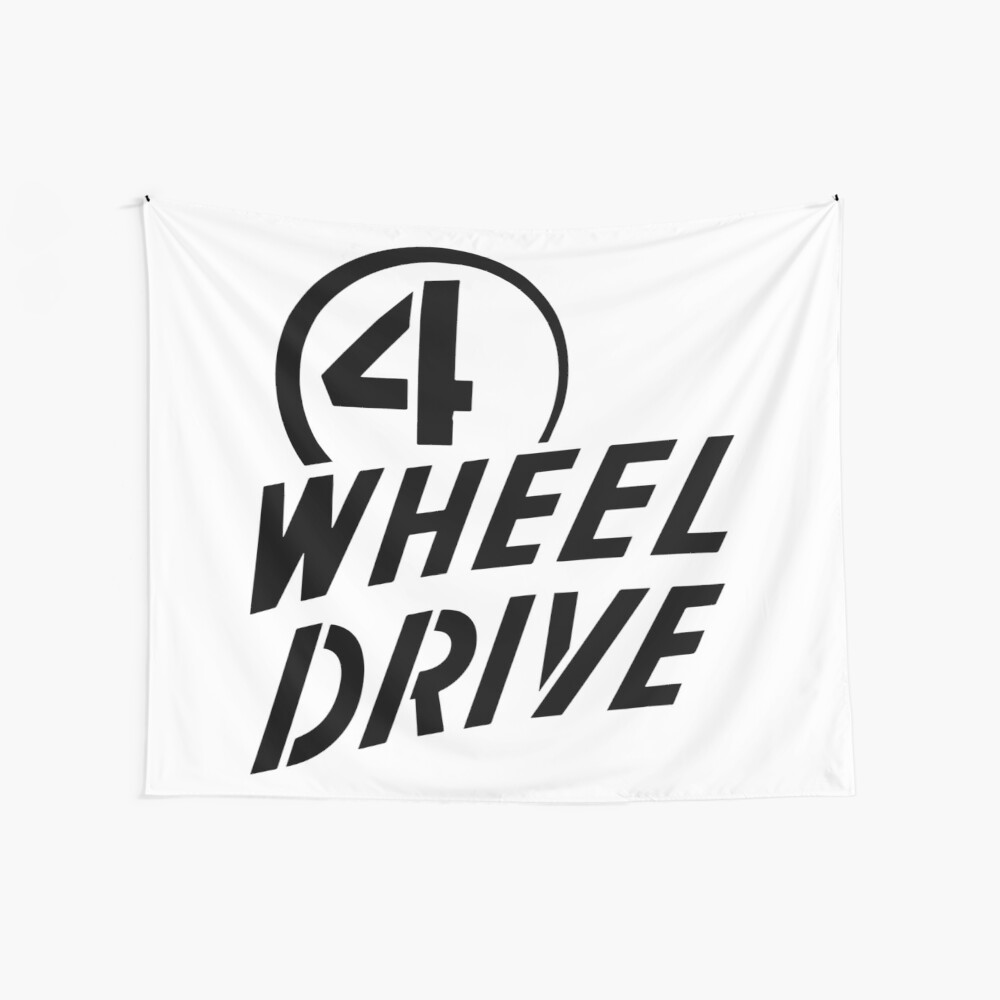 4 Wheel Drive! Wall Tapestry