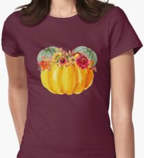 Mouse Pumpkin with Floral Crown T-Shirt