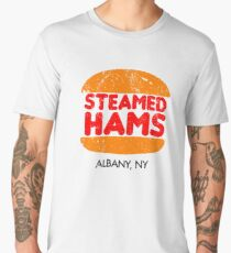 Retro Steamed Hams Men's Premium T-Shirt