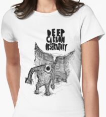 deep carbon observatory Womens Fitted T-Shirt