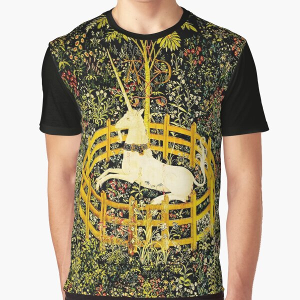 HD The Unicorn in Captivity  (1494 aprox) Graphic T-Shirt