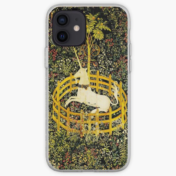 HD The Unicorn in Captivity  (1494 aprox) iPhone Soft Case