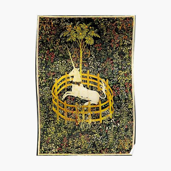 HD The Unicorn in Captivity  (1494 aprox) Poster