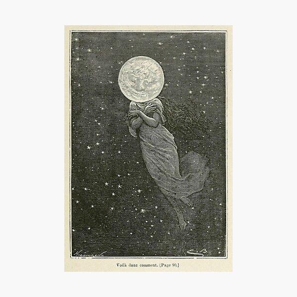 Moon Woman Photographic Print
