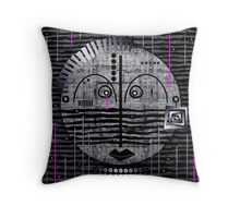 Tribal Whimsy 17 - Throw Pillow by Glen Allison