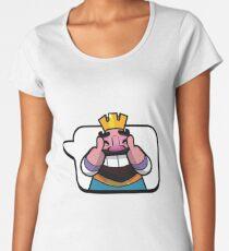 Humor KING CR Emote Women's Premium T-Shirt