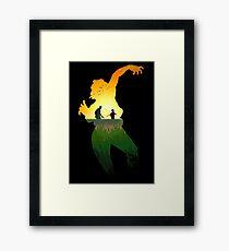 Survival. Framed Print
