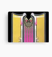 """Art Deco Design """"Twin Sisters"""" by Erté Canvas Print"""