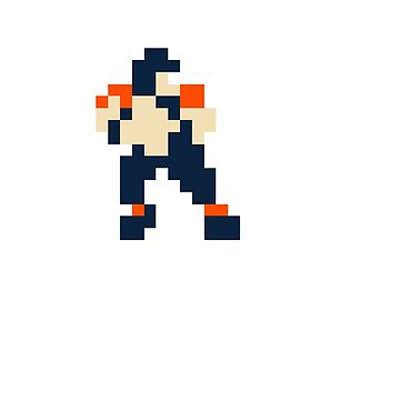Tecmo Bowl QB - Denver by CasualBiscuits