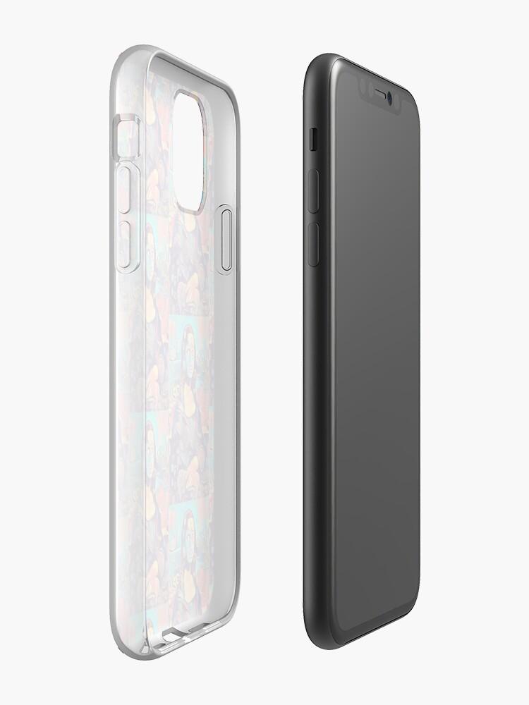 coque iphone 10 transparente , Coque iPhone «Mona Lisa, art inspiré du chef d'oeuvre de Da Vinci», par BRAZILIANJEANS