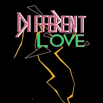 "Different ""Different Love"" Logo by MaxDevereaux"