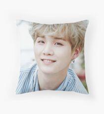 Suga BTS Throw Pillow