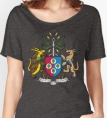 Denjuu World Coat of Arms Women's Relaxed Fit T-Shirt