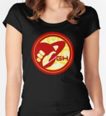 Galactic Hitchhikers- Dale Who Edition Women's Fitted Scoop T-Shirt