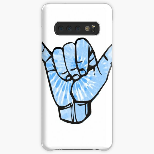 Blue Tie Dye Shaka Samsung Galaxy Snap Case