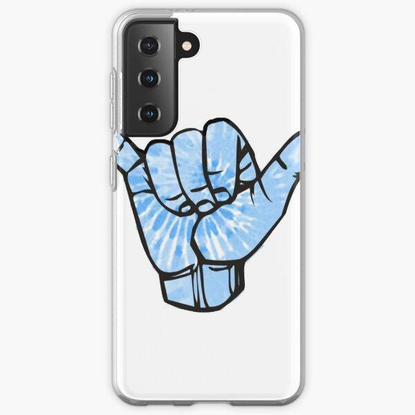 Blue Tie Dye Shaka Samsung Galaxy Soft Case