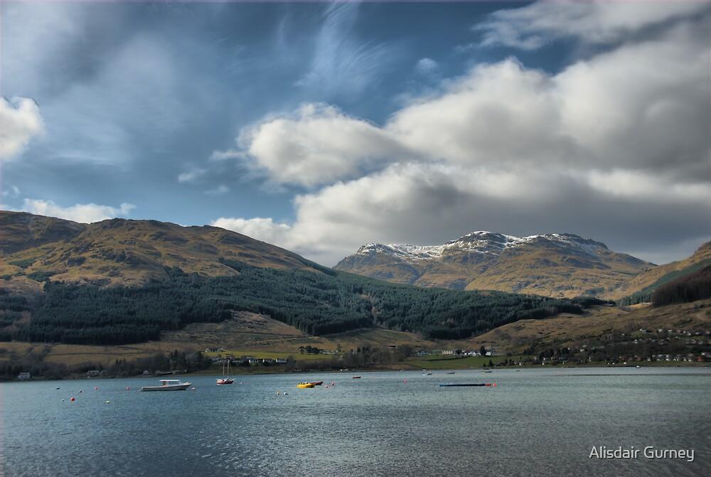 Lochgoilhead by Alisdair Gurney