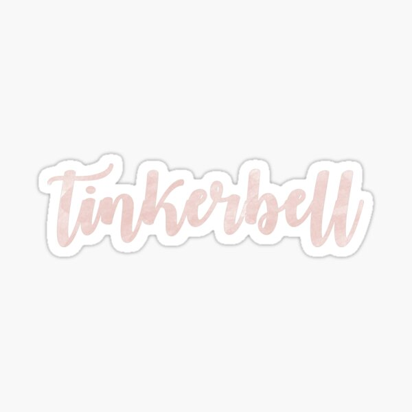 tinkerbell Sticker